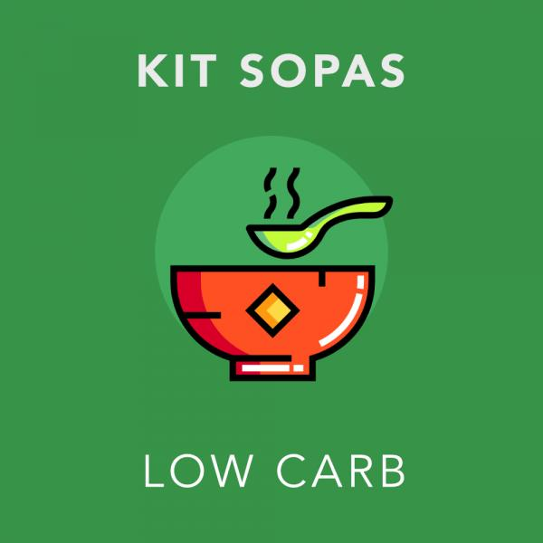 Kit Sopas Low Carb